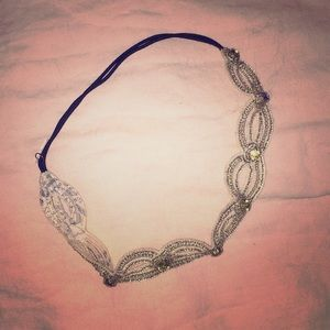 Anthropologie Head Band, beaded and jeweled